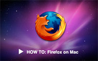 Howto Firefox Mac